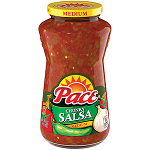 Pace Chunky Salsa Medium (453gr) July 16 2019
