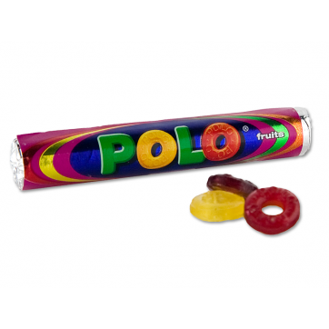 Polo Fruits Roll Candies 37gr