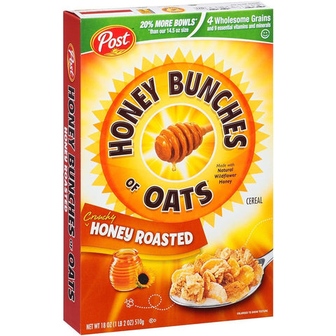 Post Honey Bunch of Oats Honey Roasted 510gr