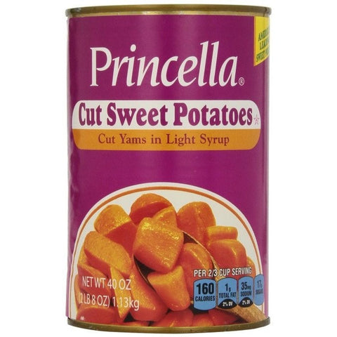 Princella Cut Yams in Light Syrup Cut 420gr