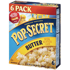 Pop Secret Butter 6 Pk (540gr)