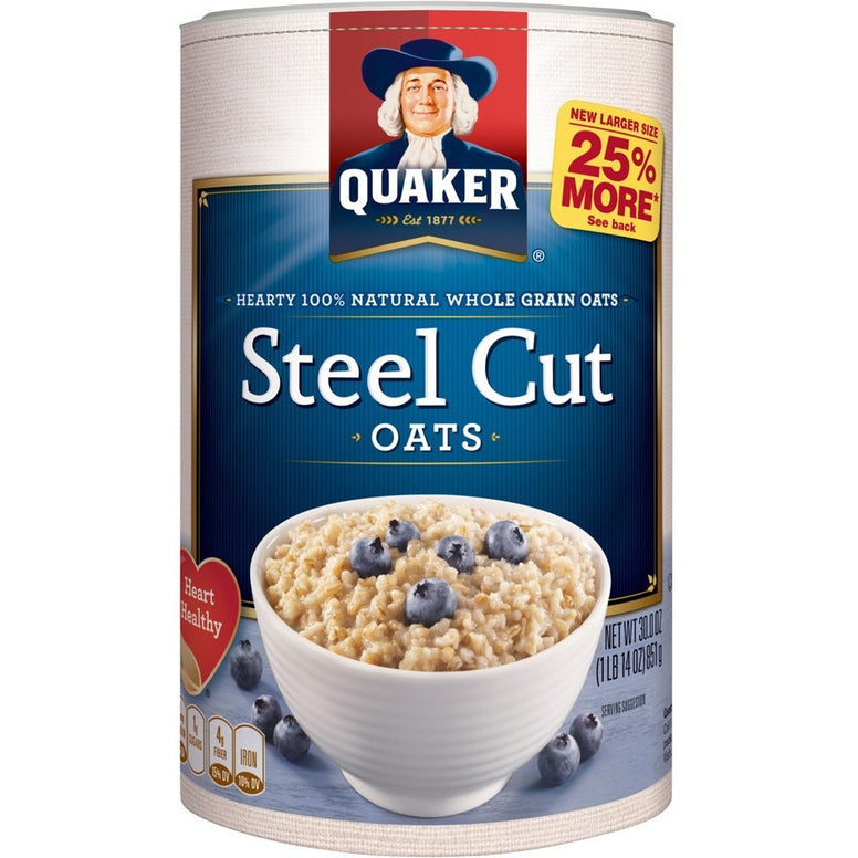 Quaker Steel Cut Oats (850gr)