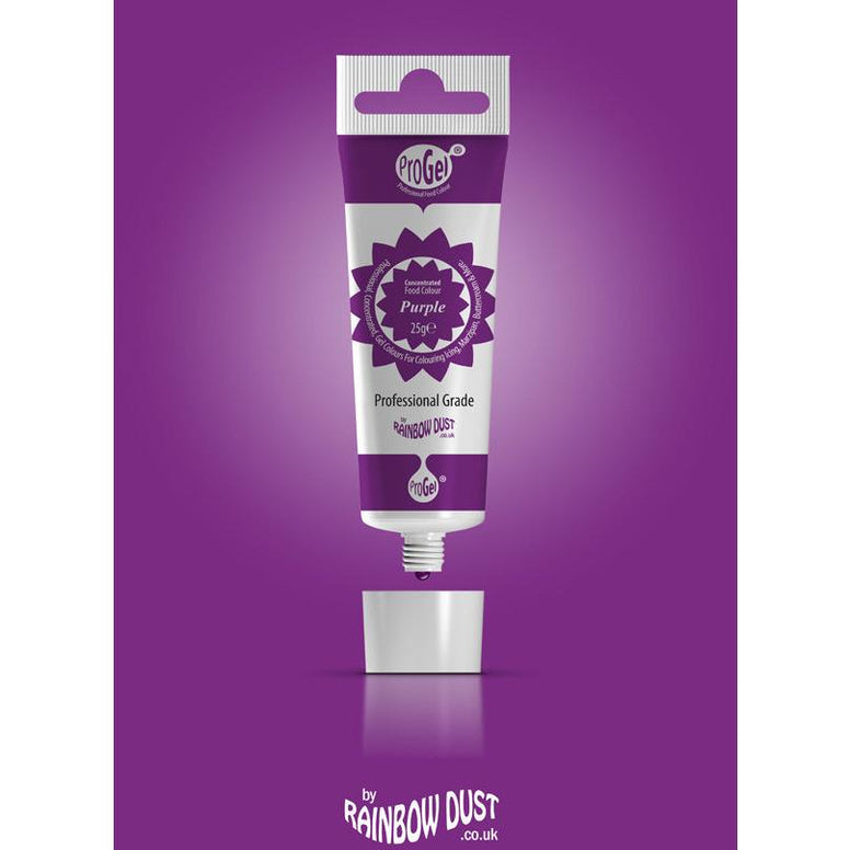 Rainbow Dust ProGel Concentrated Food Colours Purple