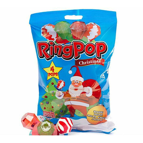 christmas ring pop bag (4rings)