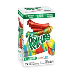 Betty Crocker Fruit Roll-ups Variety Strawberry / Tropical 1 KG (72pcs)