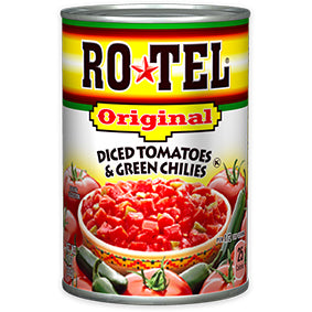 Rotel Dice Tomatoes & Green Chilies