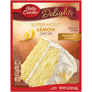 Betty Crocker Lemon Cake mix 430gr