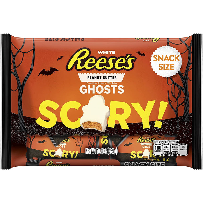 Reese's Halloween scary ghoste white peanut butter 290gr
