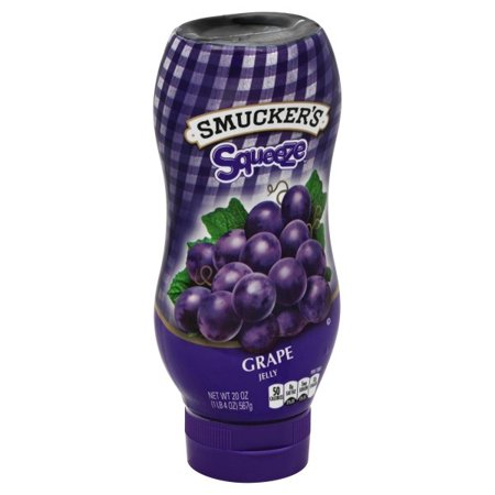 Smucker's Grape Jelly Squeeze 560gr