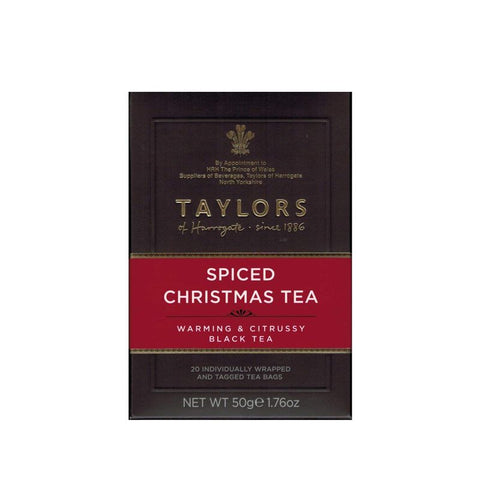 taylors spiced christmas tea 20s