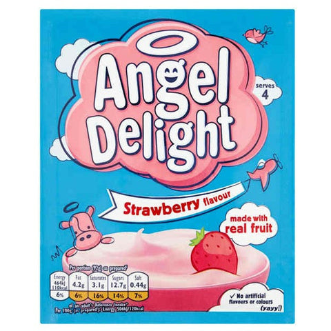 Birds Angel Delight Strawberry 60gr