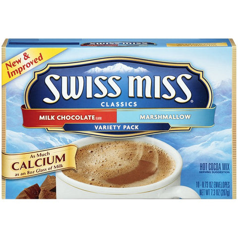 Swiss Miss Variety 10 Env.
