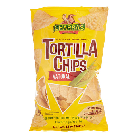 Charras tortilla chips 340gr