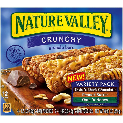 Natural Valley Variety Pack (5 x 42gr) 10 bars