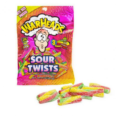 Warheads Sour Twist 100gr
