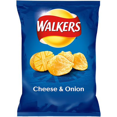 Walkers Cheese Onions 50gr