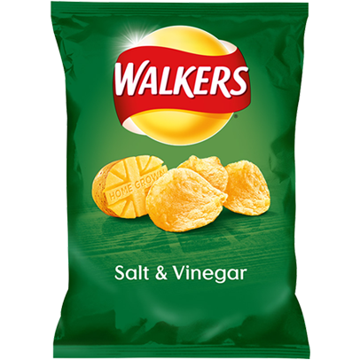 Walkers Salt & Vinegar 50gr