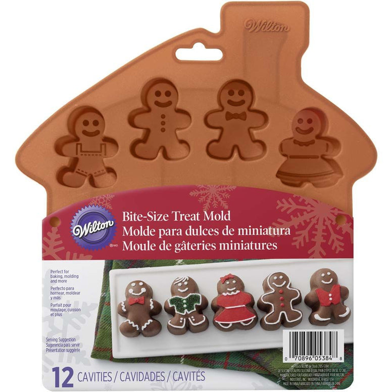 Wilton Gingerbread Silicone House 12cavs