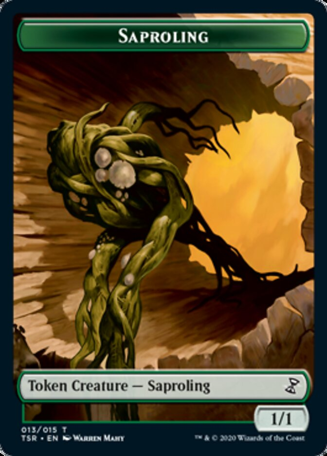 Saproling [Time Spiral Remastered Tokens] | Robs MTG Auctions