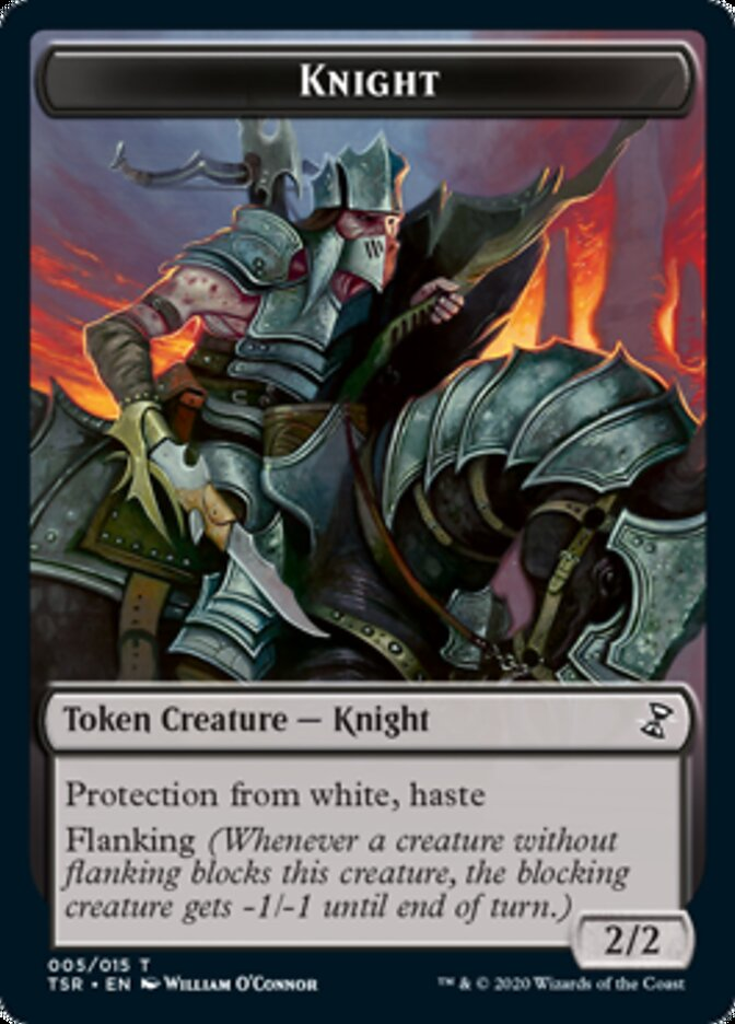 Knight [Time Spiral Remastered Tokens] | Robs MTG Auctions