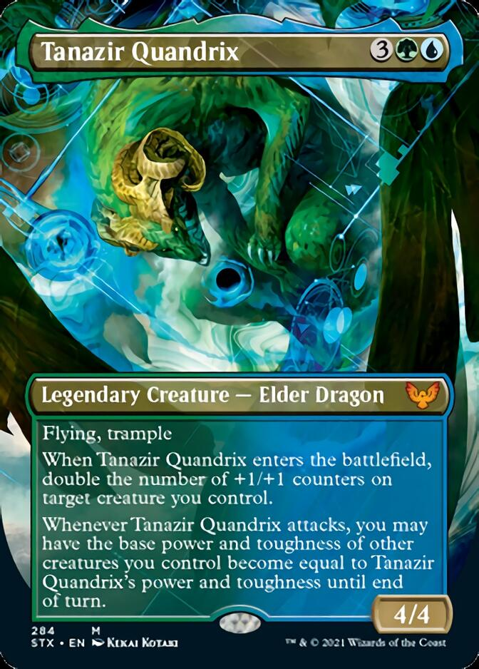 Tanazir Quandrix (Extended) [Strixhaven: School of Mages] | Robs MTG Auctions