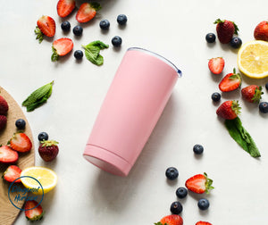 Reusable Stainless Steel Tumbler