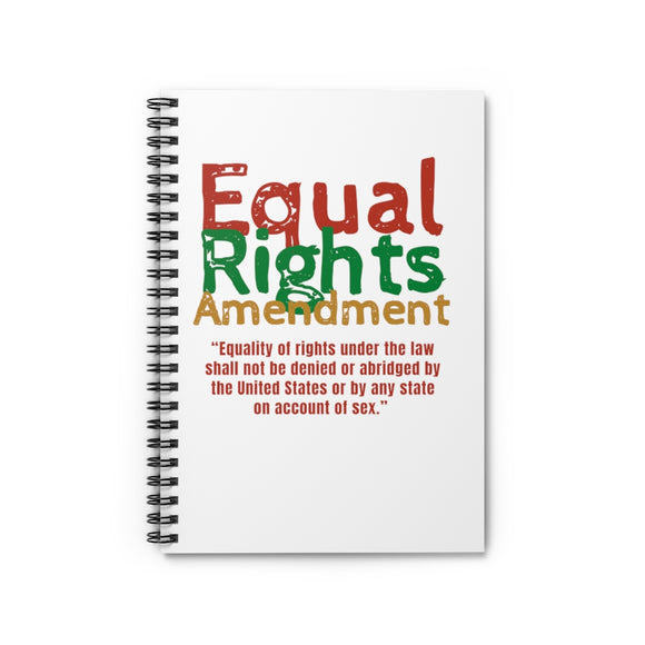 Equal Rights Amendment Spiral Notebook - Ruled Line