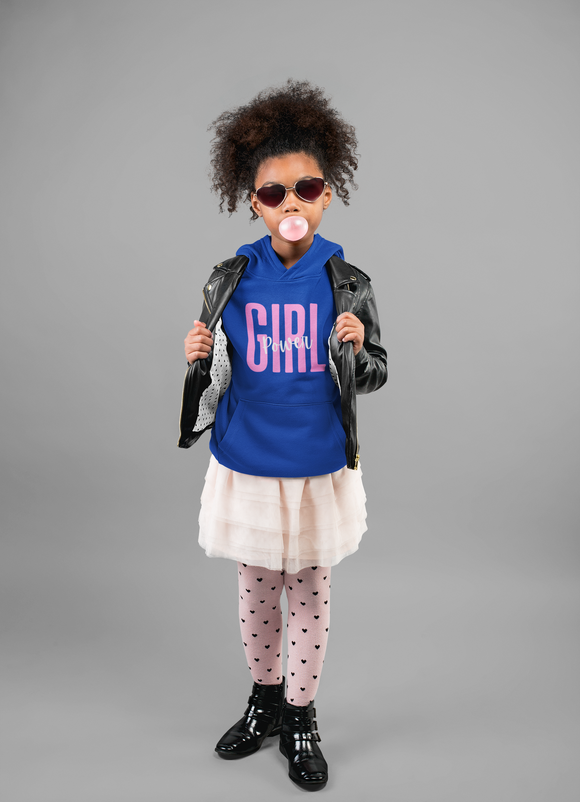Girl Power Youth Heavy Blend Hooded Sweatshirt