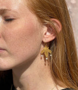 Vuelo earrings from the Barque Solaire collection of the Après Ski brand.