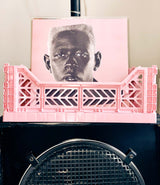 Baby Pink Foldable Crate by Aykasa.
