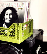Foldable Olive Crate by Aykasa.