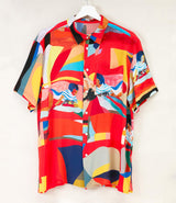 Abstract Funk Red Shirt by G Kero.