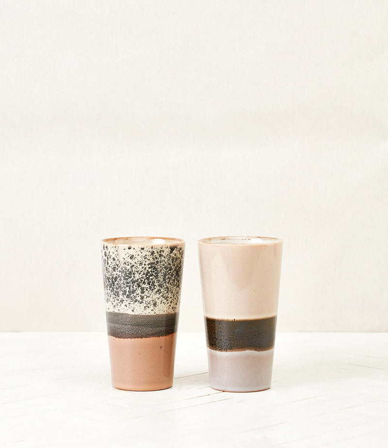 Lot de 2 Latte Mugs