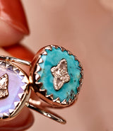 Pierrot Turquoise Ring by Pascale Monvoisin