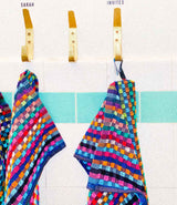 Multicolored Terry Towel