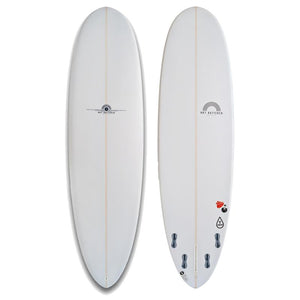 HB T Drop - PU White/Pinlines