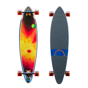 HB SKATEBOARD - Heritage Cruiser - BLACK HOLE