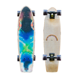 HB SKATEBOARD - Heritage Street Fighter - CLOUDBURST