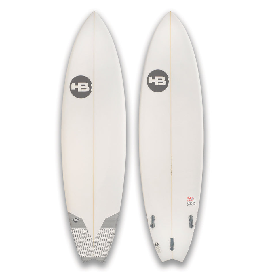 HB Slam Fish XL EPOXY - White