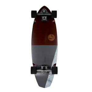 "HB SKATEBOARD - SLIDE - Diamond 32"" Koa"