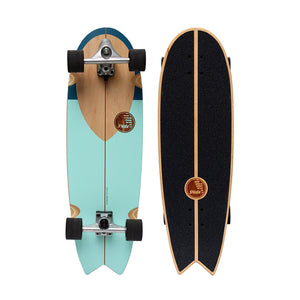 "HB SKATEBOARD - SLIDE - Swallow 33"" Noserider"