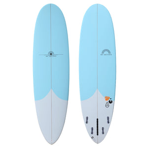 HB T Drop - Epoxy Blue Resin - 7'0