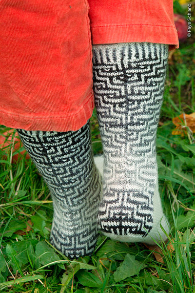 Masonry Socks by Kate Gilbert, Photo credit Faye Schiano