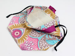 Erin Lane Sock Bag - Exclusive Fabric