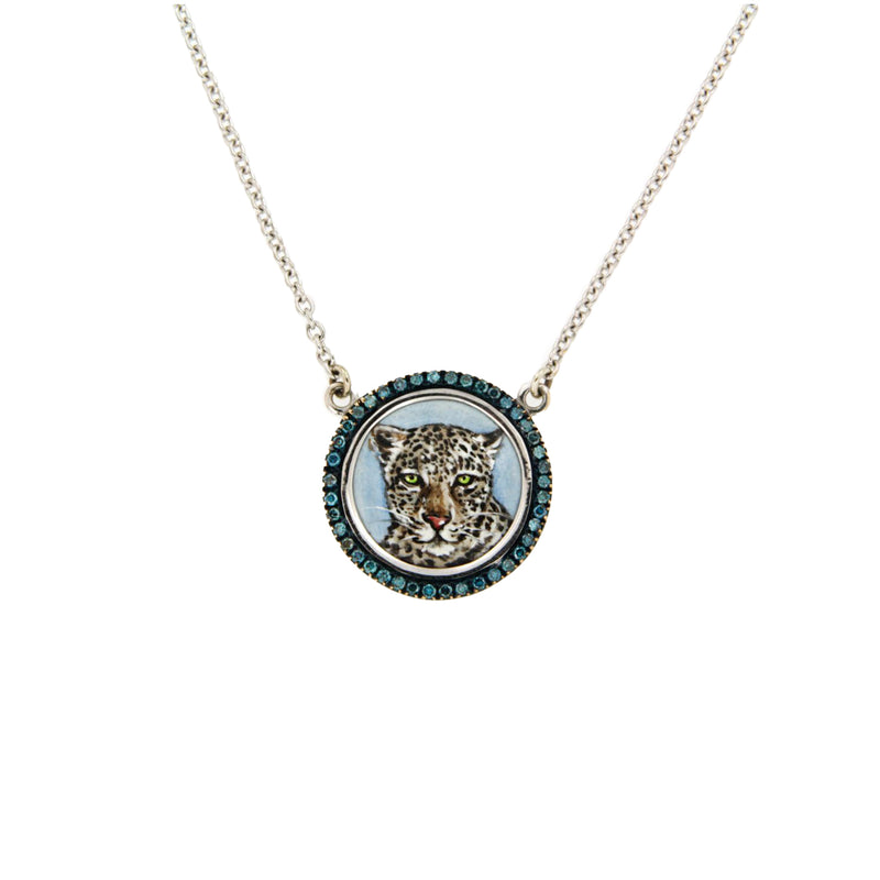 Cheetah Diamond Necklace