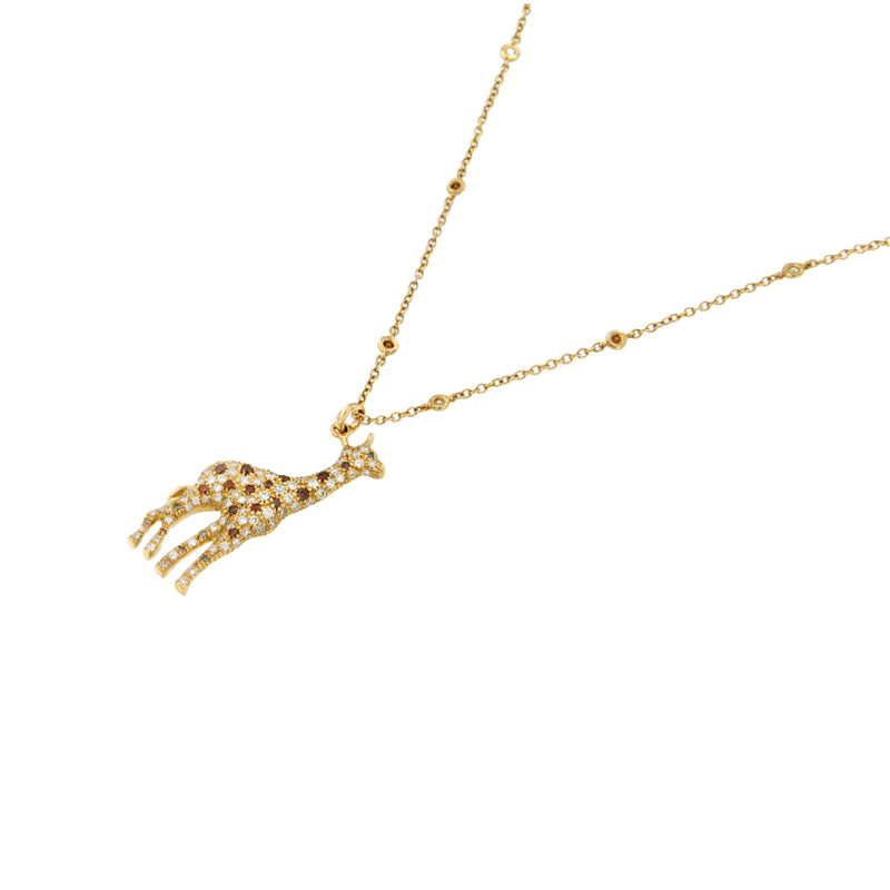 Giraffe Diamond Necklace