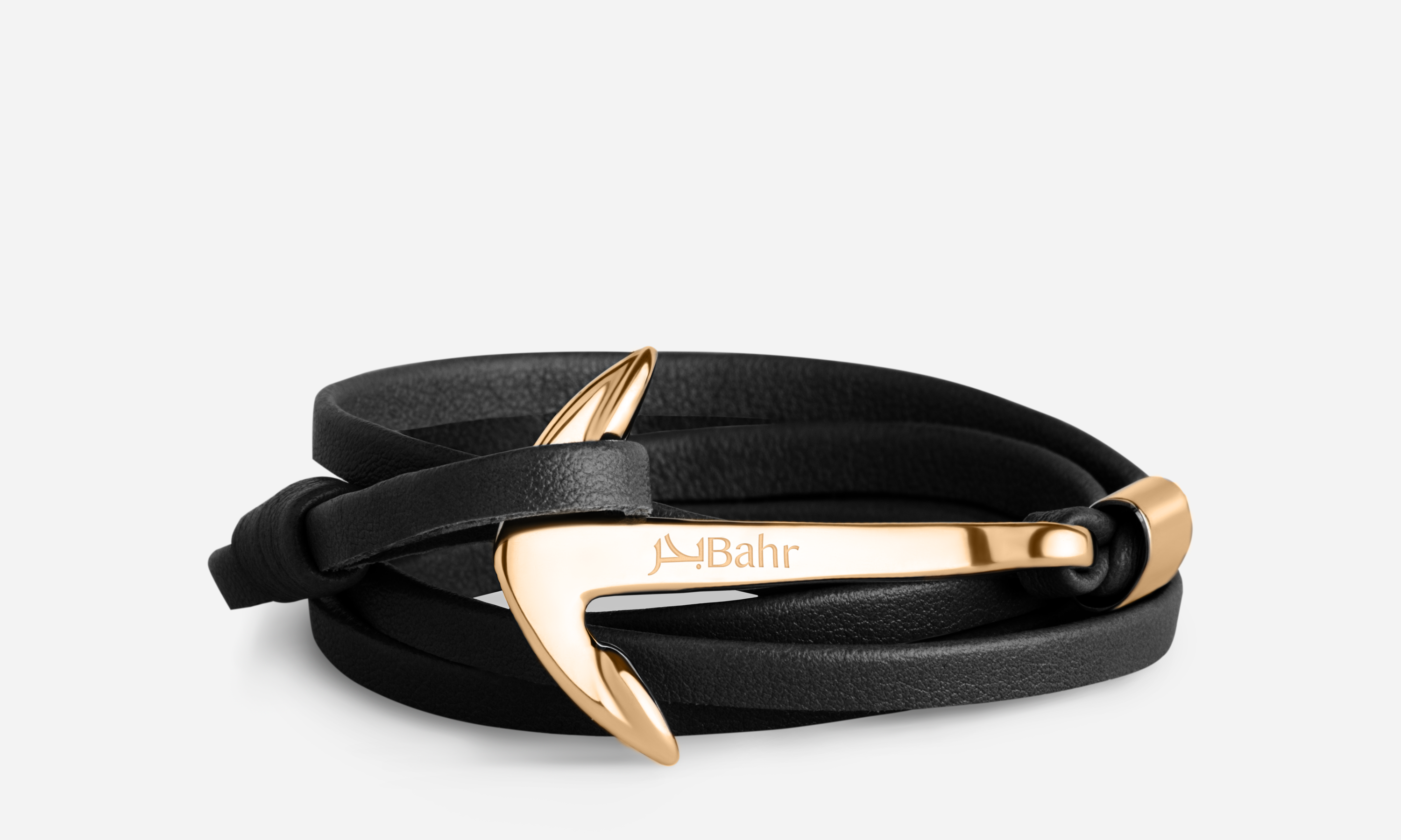 Vespertine Black - Anchor Bracelet - Bahr in UAE
