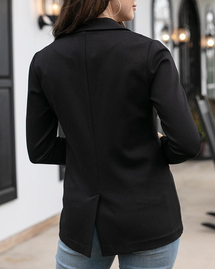 G&L Fab-Fit Blazer - Black