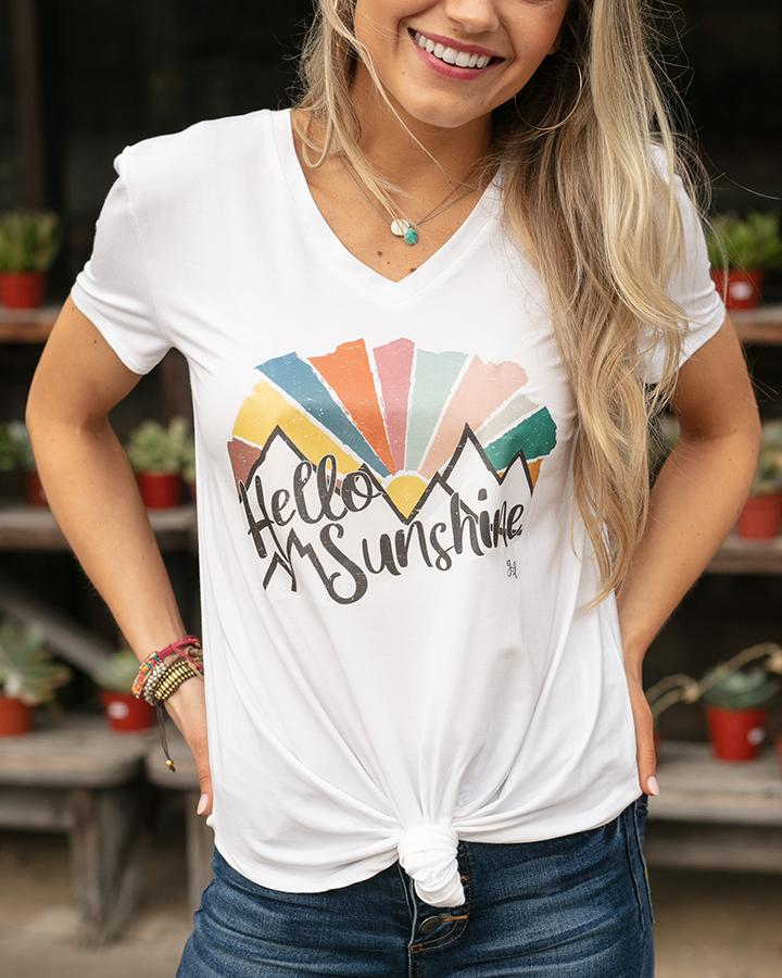 G&L Graphic Tees - Hello Sunshine