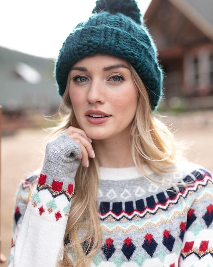 G&L Intarsia Ski Sweater - Multi-Color